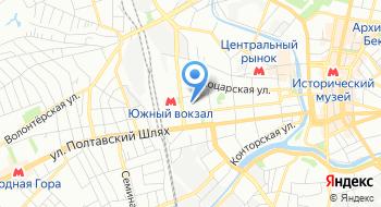 Полиграфический магазин PolyShop на карте