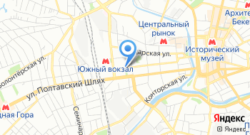Кредитный союз Харьковская касса взаимопомощи на карте