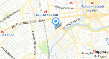Харьковский проектно-конструкторский институт Теплоэлектропроект-Союз на карте