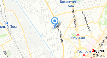 Мясной магазин Салтовский Мясокомбинат на карте