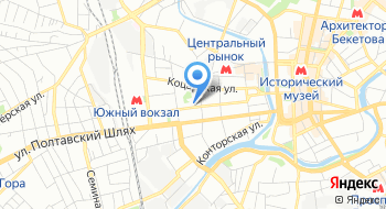 Бизнес-центр Слобожанский на карте