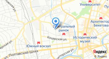 Харьков Техноткань на карте