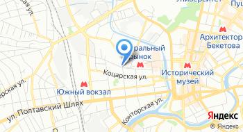 Укргазстрой на карте