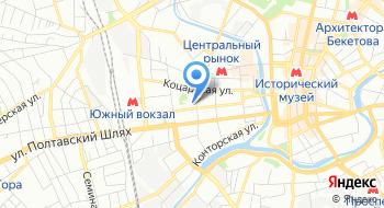 Специализированная государственная налоговая инспекция по обслуживанию крупных плательщиков в городе Харькове межрегионального управления миндоходов на карте