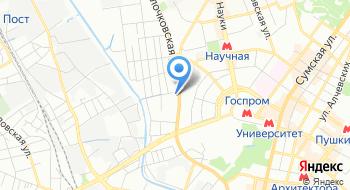 Всеукраинский торговый центр Товарная биржа на карте