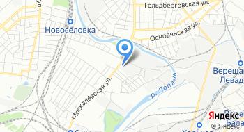 Научно-практический медицинский центр Харьковского национального медицинского университета на карте