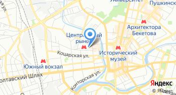 Компания Вертикаль на карте