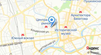 КП Харьковский метрополитен на карте