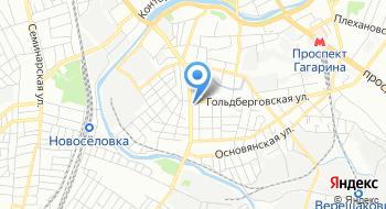КУОЗ Харьковская городская косметологическая больница города Харьков на карте