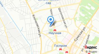 Харьковский национальный экономический университет им. Семена Кузнеца на карте