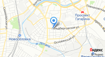 Харьковский завод Спортинвентарь на карте