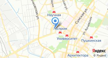 Филиал Национальной телекомпании Украины Харьковская региональная дирекция Телеканал ОТБ на карте