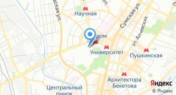 Музей истории ХНУ имени В. Н. Каразина на карте