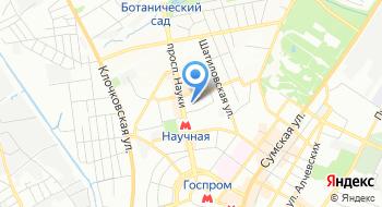 Харьковский национальный университет радиоэлектроники Кафедра Медиасистемы и технологии на карте