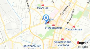 Харьковский национальный университет им. В.Н. Каразина на карте