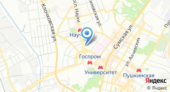 Харьковский национальный медицинский университет на карте