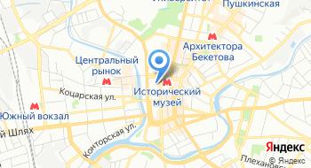 Харьковская духовная семинария Харьковской епархии Украинской православной церкви на карте