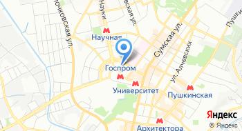 Центр трудоустройства студентов-выпускников Харьковского Национального университета имени В.Н. Каразина на карте