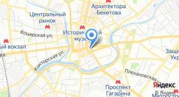 Коммунальное учреждение охраны здоровья Харьковская городская стоматологическая поликлиника № 4 Харьковского городского совета на карте