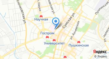 Харьковский межобластной специализированный медико-генетический центр и центр редких орфанных заболеваний на карте