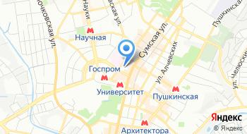 НИИ гигиены труда и профессиональных заболеваний Харьковского национального медицинского университета на карте