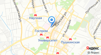 Музей природы Харьковского национального университета имени В.Н. Каразина на карте