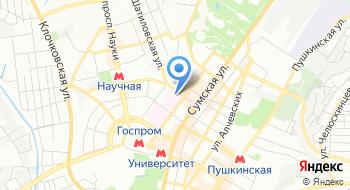 Харьковский Военно-медицинский клинический центр Северного региона на карте
