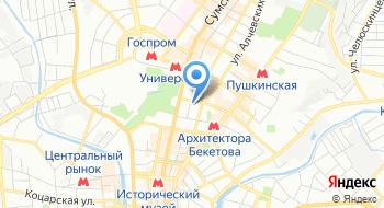Поликлиника государственного учреждения Территориальное медицинское объединение МВД Украины по Харьковской области на карте