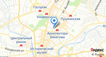 Харьковский художественный музей на карте