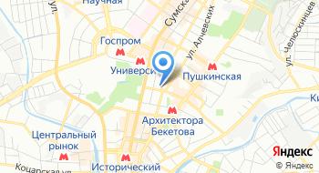 Харьковский городской клинический кожно-венерологический диспансер № 5 на карте