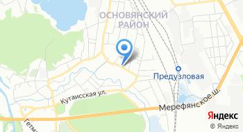 Харьковская дистанция электроснабжения Еч-2 на карте
