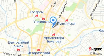 Anyway на карте