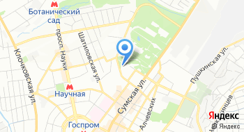 Национальный юридический университет им. Ярослава Мудрого на карте