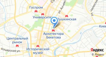 Дворец культуры УВД Харькова на карте