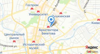 Главное управление Государственной Фискальной службы в Харьковской области на карте