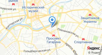 Управление государственного Департамента Украины по вопросам исполнения наказаний в Харьковской области на карте