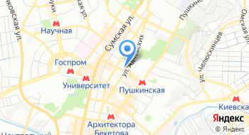 Харьковский национальный автомобильно-дорожный университет на карте