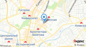 Национальный фармацевтический университет на карте