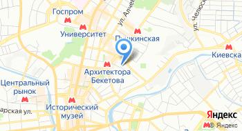 Дом Архитектора Харьковской областной организации Национального союза архитекторов Украины на карте