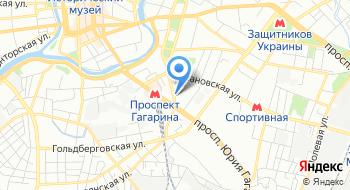 Госпиталь ГУ ТМО МВД Украины по Харьковской области на карте