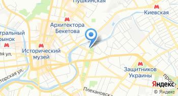 Украинский государственный университет железнодорожного транспорта на карте