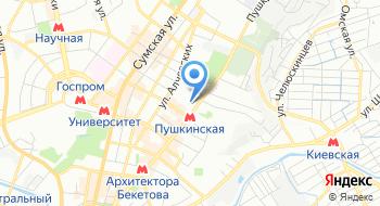 Национальный юридический университет имени Ярослава Мудрого, приёмная комиссия на карте