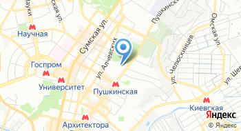 Дворец студентов Национального юридического университета имени Ярослава Мудрого на карте