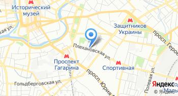 Предприятия Центр СПБ на карте