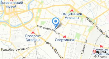 Современный дом на карте