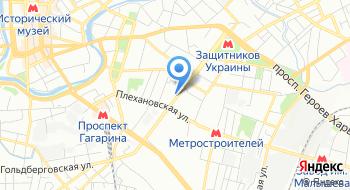 Senya на карте