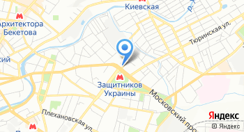 Харьковский районный центр занятости на карте