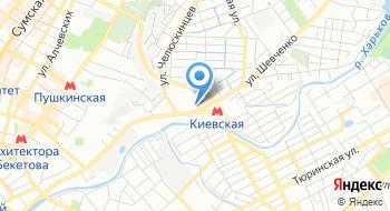 Харьковский городской центр занятости на карте