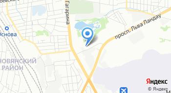 Семагро на карте