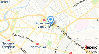 Харьковский областной центр занятости на карте